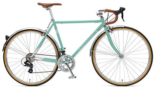 Retrospec Bicycles Kinney 14-Speed Vintage Hybrid Diamond Drop-Bar Frame Bicycle 0