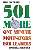 img - for Lessons from the Cloth 2: 101 More One Minute Motivators for Leaders book / textbook / text book