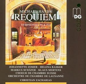 Michael Haydn: Requiem; Symphonies P9 & P16