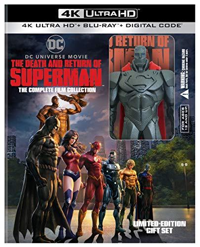 4K Blu-ray : Death & Return Of Superman: Comp Film Coll Giftset (2 Discos)