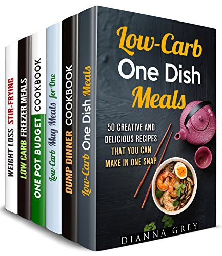 Glorious Dump Meals Box Set (6 in 1): Over 250 Low Carb, One Pot Budget Meals for Stir-Frying, Microwave, Mugs and So Much More (One Pot Dump Dinners) by Dianna Grey, Sadie Tucker, Jillian Riggs, Barbara Davis, Tina Porter