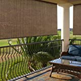 Radiance 2310014 Sun Shade Roll-Up Shade Cocoa 72x72