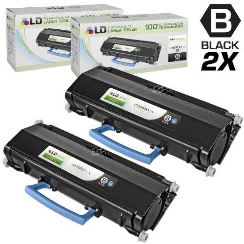 Lexmark  E460 E462 Series Extra High Yield Toner E460X11A Page Yield 15K