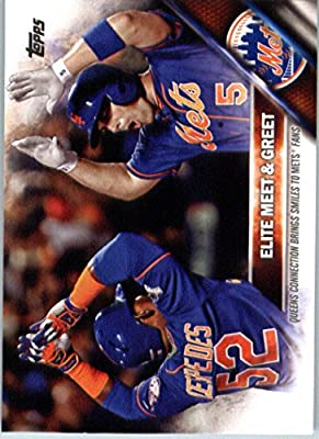 2016 Topps Series 2 #643 Elite Meet & Greet New York Mets Baseball Card-MINT