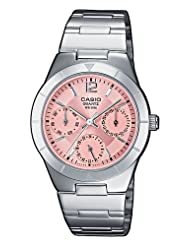 Casio Analog Pink Dial Women's Watch - LTP-2069D-4AVDF (A379)
