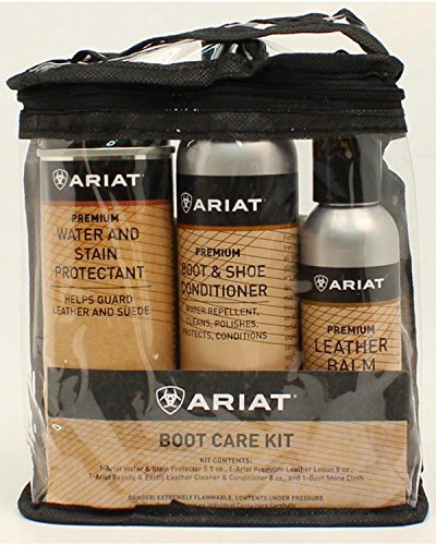 Ariat Unisex Boot Care Kit Multi One Size (Ariat Leather Cleaner compare prices)