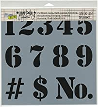 Crafters Workshop Number Crafter39s Workshop Template 12-Inch by 12-Inch
