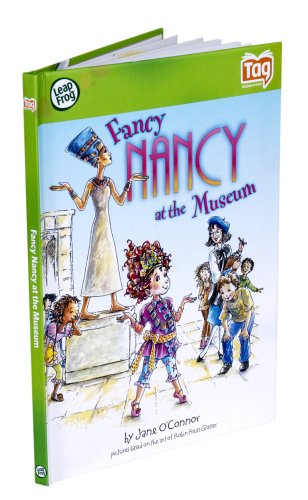 Leapfrog Tag Kid Classic Storybook Fancy Nancy At The Museum - 1