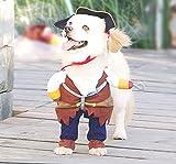 NACOCO Pet Dog Costume Pirates of the Caribbean Style (Medium)