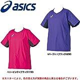 ASICS(アシックス) W's ウォームアップシャツ HS XWW51L レディース 半袖 バレーボール ピステ