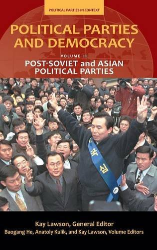 Political Parties and Democracy: Volume III: Post-Soviet and Asian Political Parties (Political Parties in Context)
