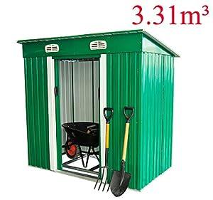 Compartir eur 229 90 eur 7 99 de gastos de env o en stock for Cobertizo metalico jardin