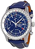 51eeZNA FIL. SL160  Breitling Mens A2432212/C561 Navitimer World Chronograph Watch