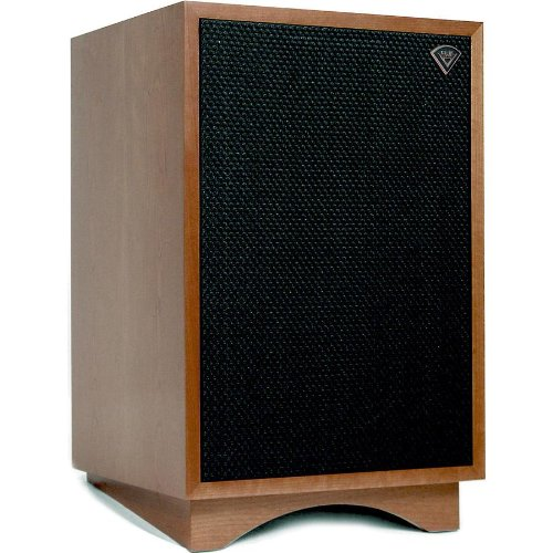 Klipsch Heresy Iii Three-Way Horn-Loaded Loudspeaker With 12-Inch Subwoofer (Walnut)
