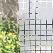 1pc 45x200cm Decorative Film Waterproof Privacy Frosted Office Door Home Bedroom Bathroom Window Glass Sticker...