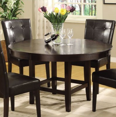 Modus Furniture 2Y2162R48 Bossa 48-Inch Round Counter Height Dining Table, Dark Chocolate