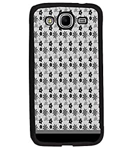 PrintDhaba Flower Pattern D-1788 Back Case Cover for SAMSUNG GALAXY MEGA 5.8 (Multi-Coloured)