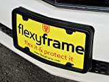 Flexyframe LD - Front Bumper Guard, Front Bumper Protection, License Plate Frame. Winner of Popular Mechanics Editors Choice Award 2012!