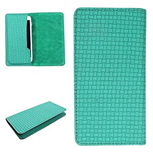 DooDa PU Leather Case Cover For Karbonn A18+ (Green)