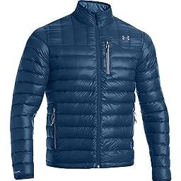 Under Armour UA ColdGear Infrared Turing Jacket - Men\'s Petrol Blue / Steel XXL