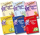 Letts Letts Magical Key Stage 1 SATs Revision Guides and Workbooks Collection - 6 Books RRP £28.47 (KS1 English Revision Guide; KS1 English Workbook; KS1 Science Revision Guide; KS1 Science Workbook; KS1 Maths Revision Guide; KS1 Maths Workbook)