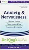 Dr. King's Natural Medicine Anxiety and Nervousness, 2 Fluid Ounce