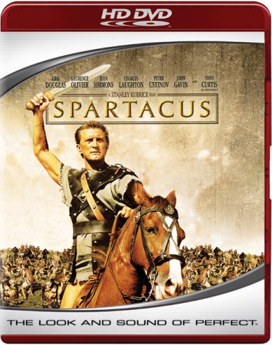 Cover art for  Spartacus [HD DVD]