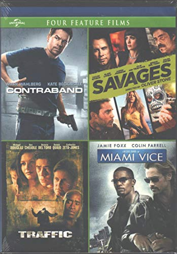DVD : Contraband / Savages / Traffic / Miami Vice