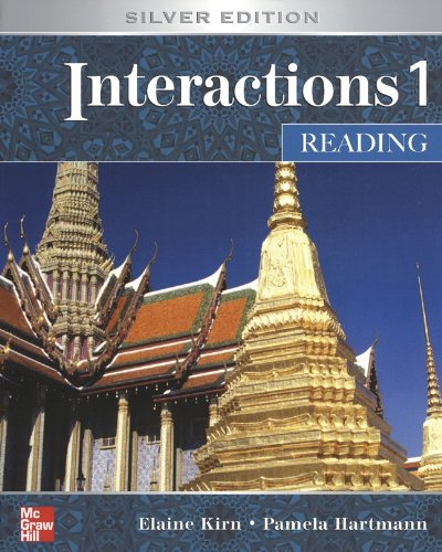 Interactions 1 Reading Student Book + e-Course Code Card...