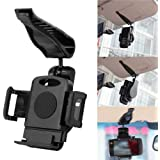 Veewon® Universal Car Sun Visor Sunshade Clip Mount Holder for iPhone 6 Plus / 6 / 5S / 5C / 5 / 4S , iPod, Samsung Galaxy S5 / S4 / S3 / S2 / Note 4 / Note 3 / Note 2, Nokia Lumia, HTC One , LG G2 and Other Cell Phone