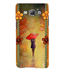 Fuson 3D Printed Girly Designer back case cover for Samsung Galaxy A7 A700F - D4350