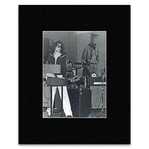 Suicide - Martin Rev CBGB NYC 1977 Matted Mini Poster - 40.5x30.5cm (Martin Radiation compare prices)