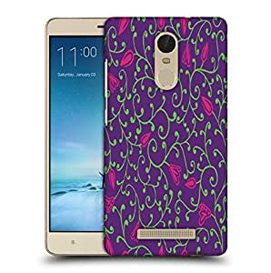 Snoogg Green Branches Printed Protective Phone Back Case Cover For Xiaomi Redmi Note 3