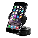 iOttie HLCRIO104 Easy Flex 2 Windshield Dashboard Car/Desk Mount Holder for iPhone 6 (4.7) /5s/5c/4s, Galaxy S4/S3, HTC One - Retail Packaging - Black