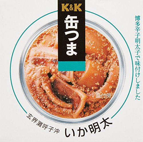 Canned IKAMENTAI(Squid & Fish egg) x6 (Canned Eggs compare prices)