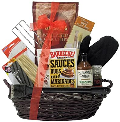 Great Arrivals Gourmet BBQ Gift Basket, Grillin and Chillin