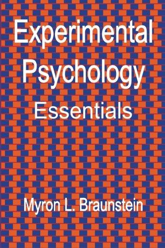 Experimental Psychology Essentials