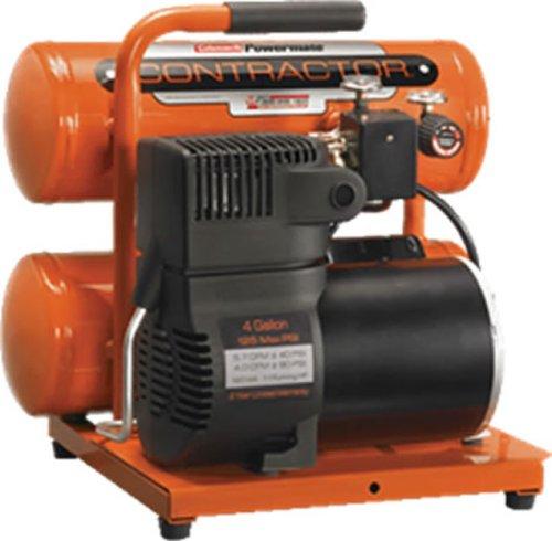 Buy Coleman Powermate Contractor Series Oil Lubricated Air Compressor, 4 Gallon Tank #CS0200412 (Coleman Air Compressors,Power & Hand Tools, Power Tools, Air Compressors)