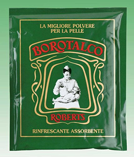 Roberts: Borotalco® Talc Powder * 3.5 Ounce (100gr) Packages (Pack of 12) * [ Italian Import ] - 1