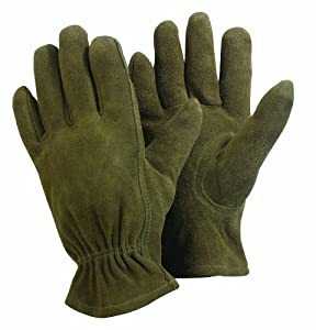 Briers machine washable leather gardening for Gardening gloves amazon