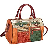 Nicole Lee Arcadia Multi Media Boston SN3120-OR Hobo,Orange,One Size