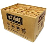 Fatwood Firestarter 9935 0.88 Cubic Feet Fatwood for Fireplace in Bulk Box, 35-Pound