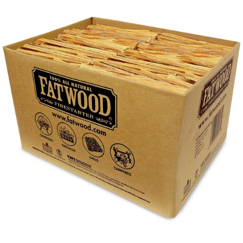 Best Review Of Fatwood Firestarter 9935 0.88 Cubic Feet Fatwood for Fireplace in Bulk Box, 35-Pound