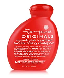 Renpure Originals My Pretty Hair is Parched! Moisturizing Shampoo, 13.5-Ounce
