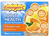 Emergen-C Joint Health Tangerine Fizzy Drink Mix 30 Sachets