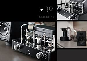 v30 Blackline Hybrid Valve Amplifier and Loudspeaker System