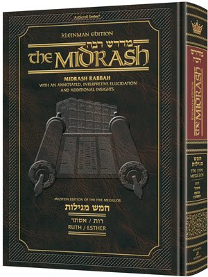 Kleinman Edition Midrash Rabbah: <brMegillas Ruth and Esther <brComplete in 1 Volume