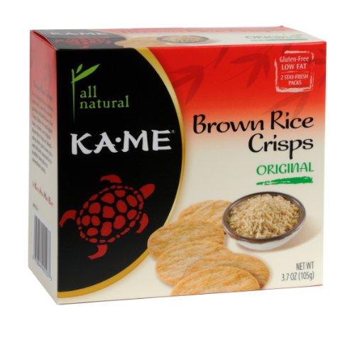 Ka'Me Original Brown Rice Crisp 3.7 Oz. (Pack Of 6)