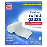 Rite Aid Gauze Bandage Rolls 4 In. 5 Ct.