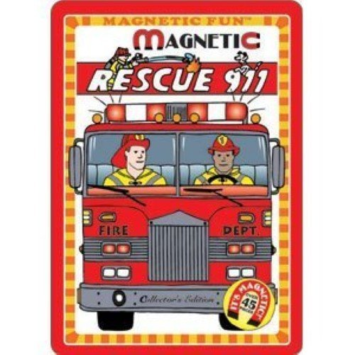 1 X Rescue 911 Magnetic Tin